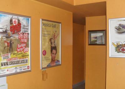 Freie Plakatierung Indoor